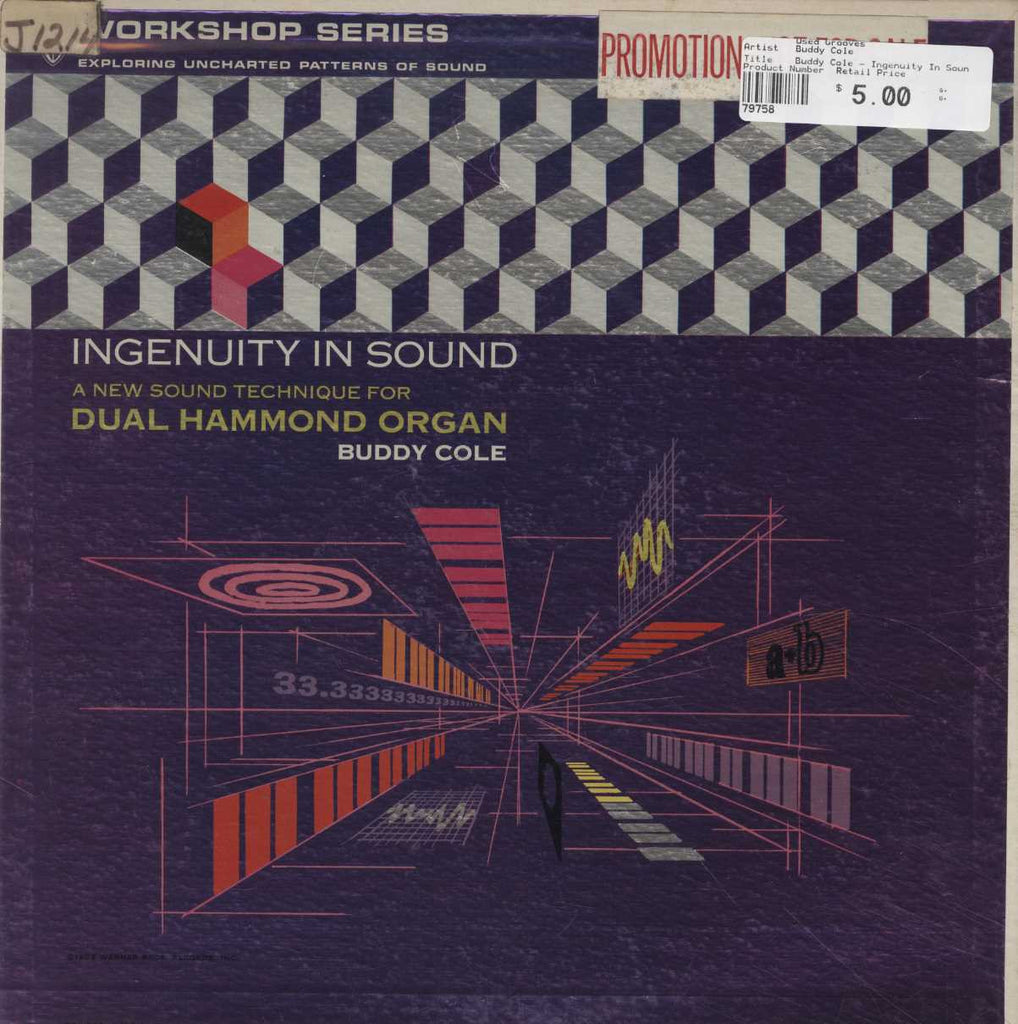 Buddy Cole - Ingenuity In Sound