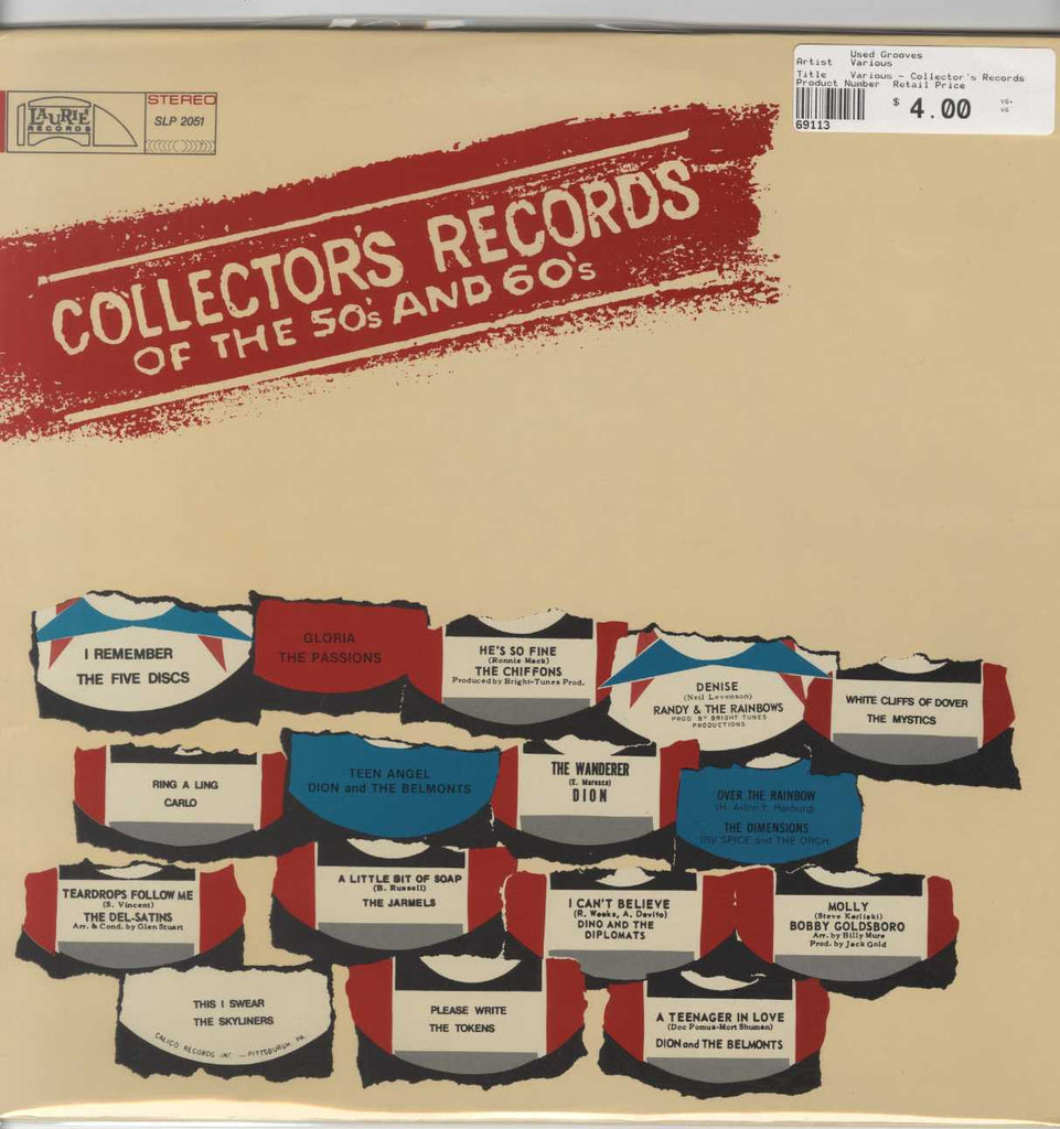 Various - Collector's Records Of The 50's And 60's