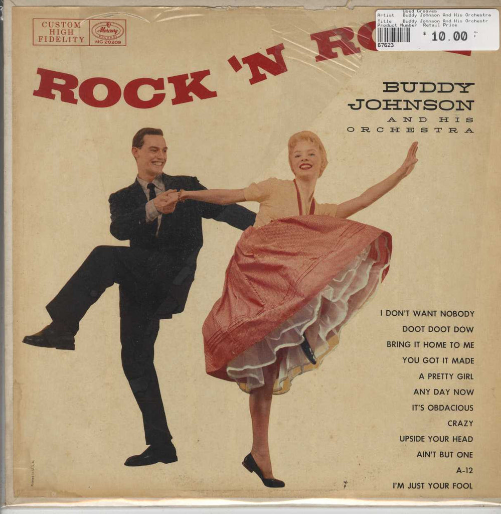Buddy Johnson And His Orchestra - Rock 'N Roll With Buddy Johnson And His Orchestra