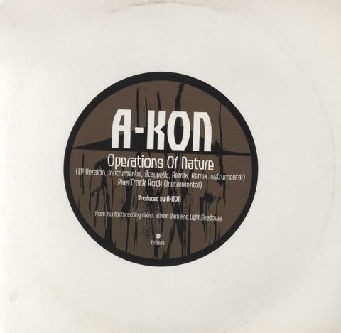 Akon - Operations Of Nature