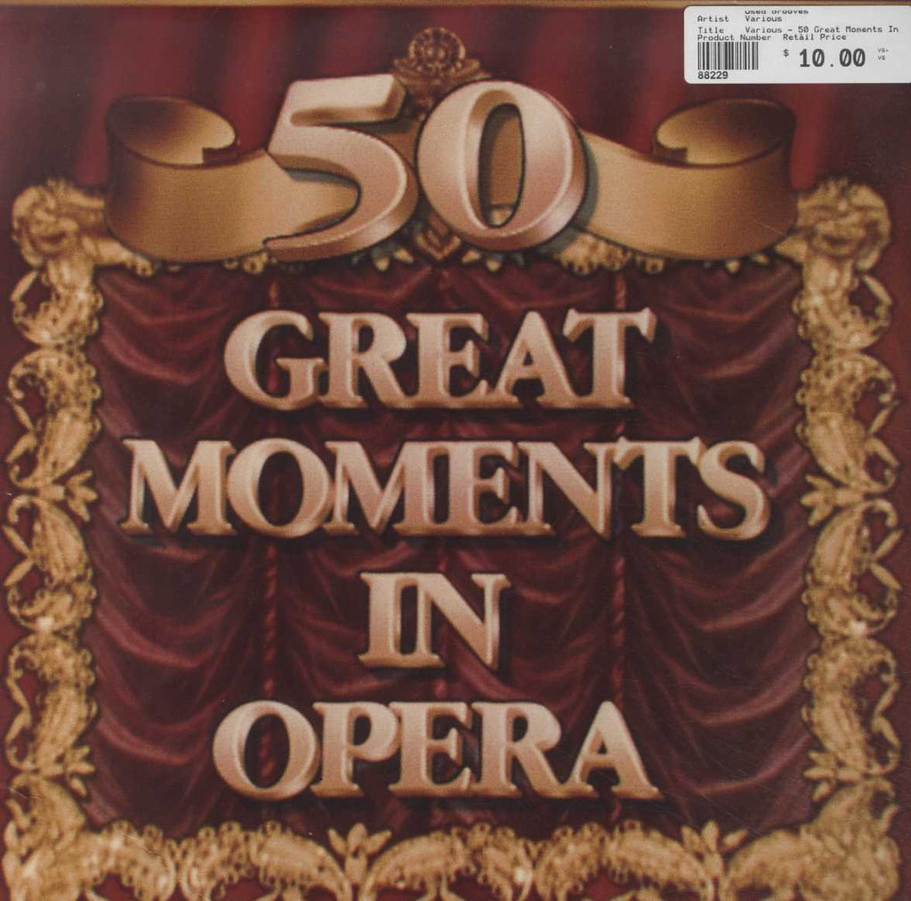 Various - 50 Great Moments In Opera