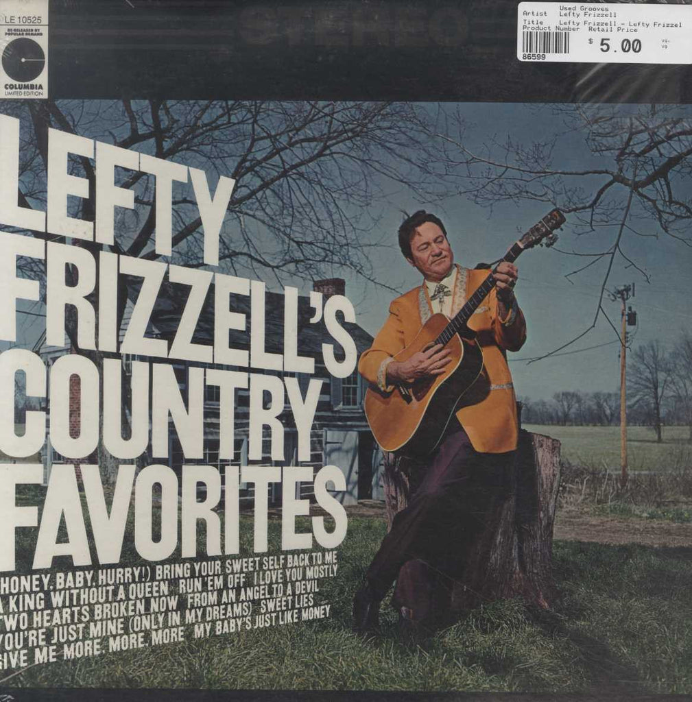 Lefty Frizzell - Lefty Frizzell's Country Favorites