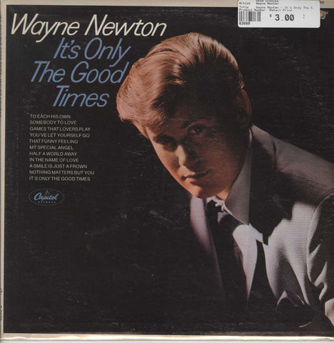 Wayne Newton - It's Only The Good Times