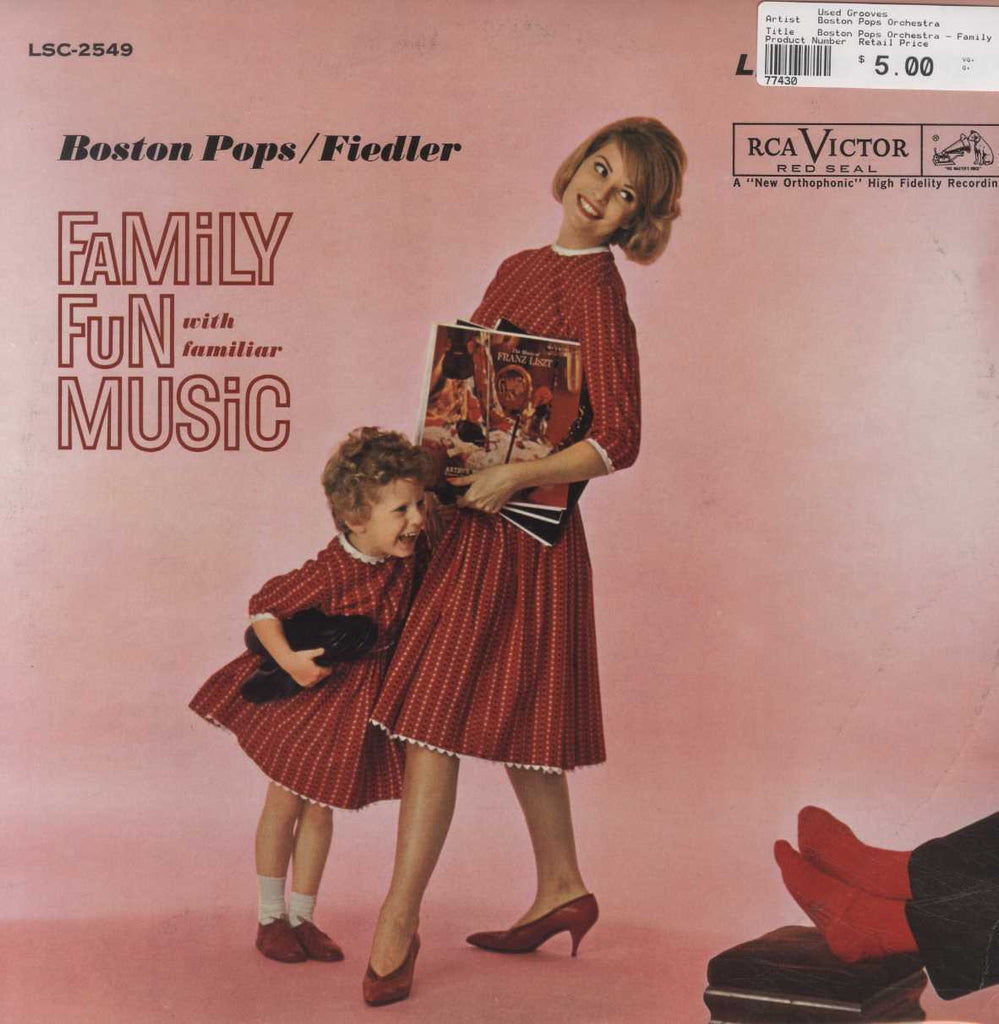 Boston Pops Orchestra - Family Fun with Familiar Music