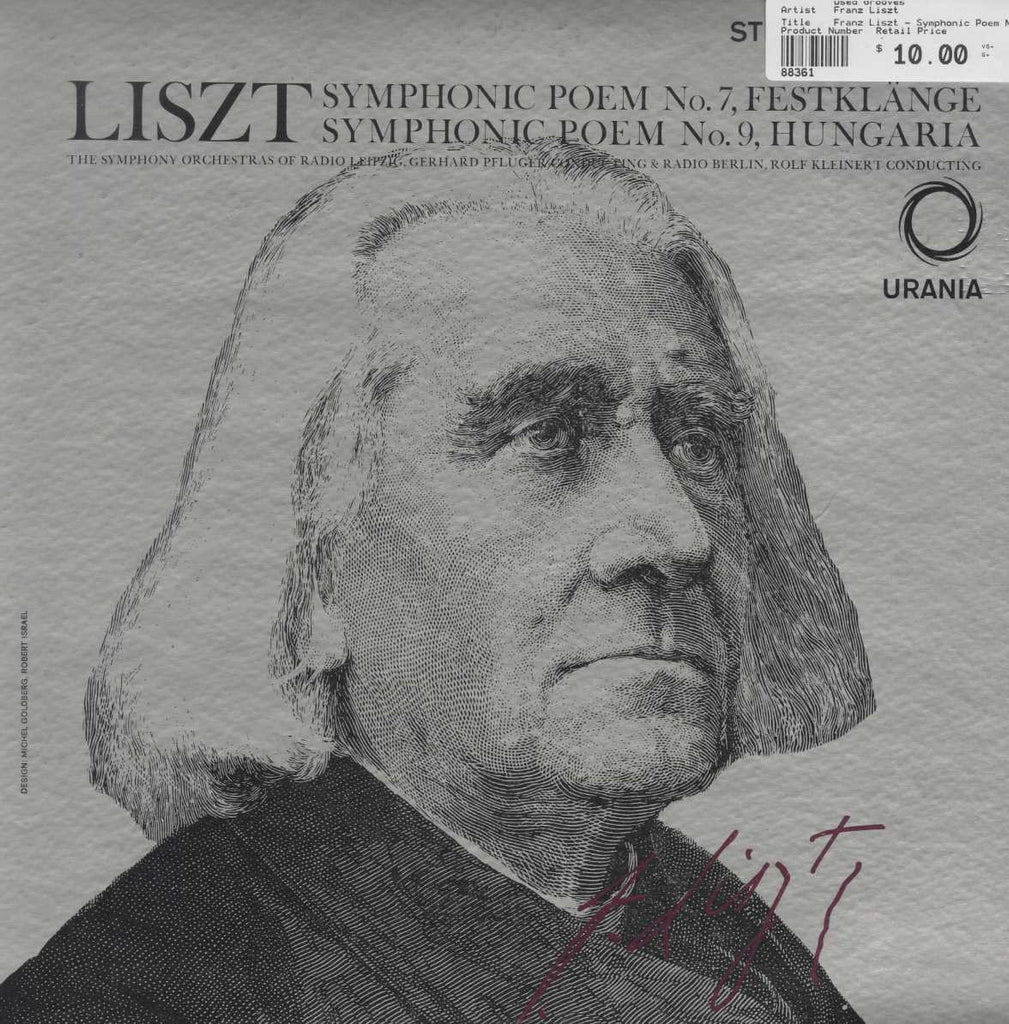 Franz Liszt - Symphonic Poem No. 7 and 9
