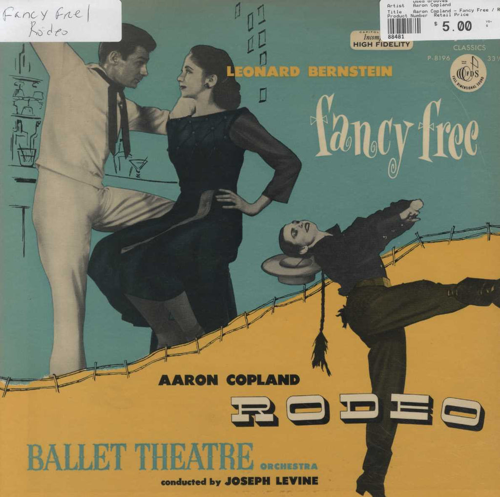 Aaron Copland - Fancy Free / Rodeo