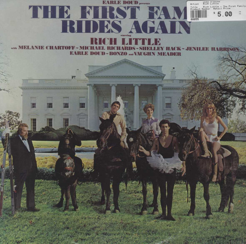 Rich Little - The First Family Rides Again