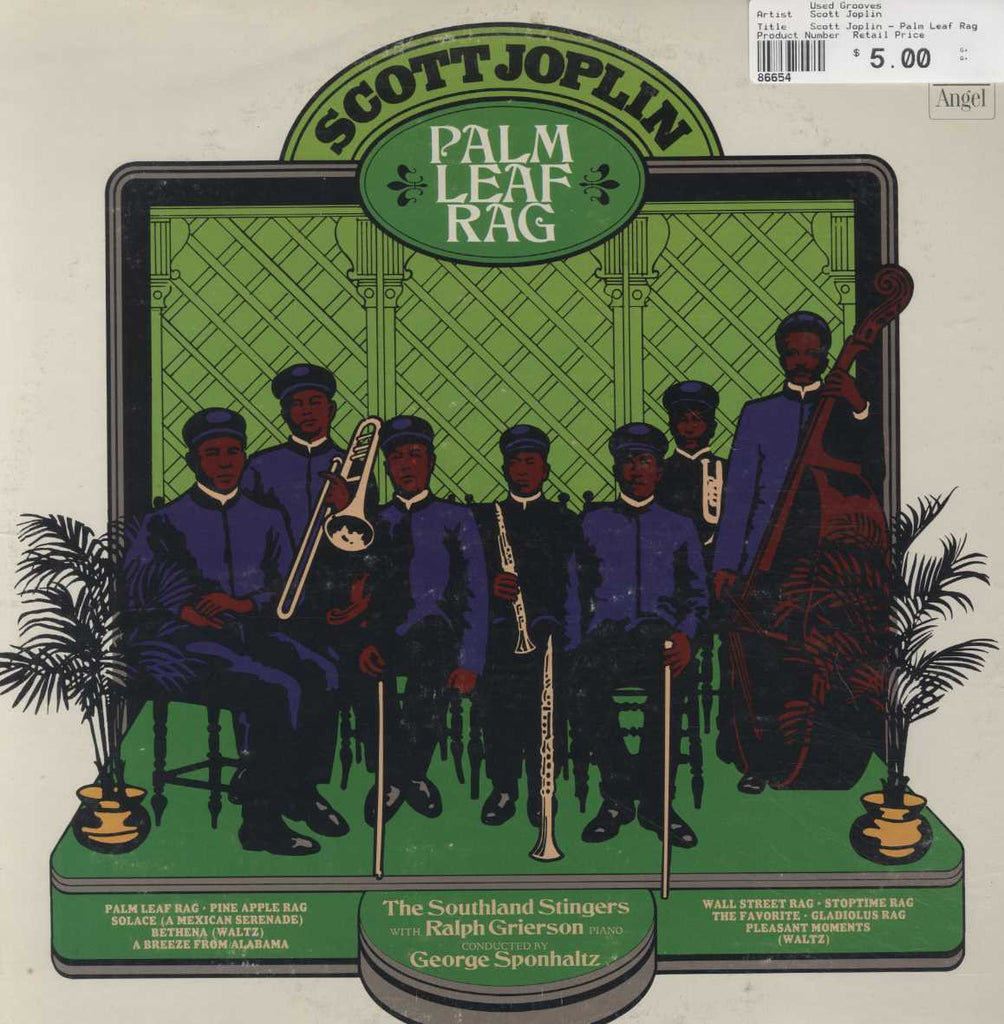 Scott Joplin - Palm Leaf Rag