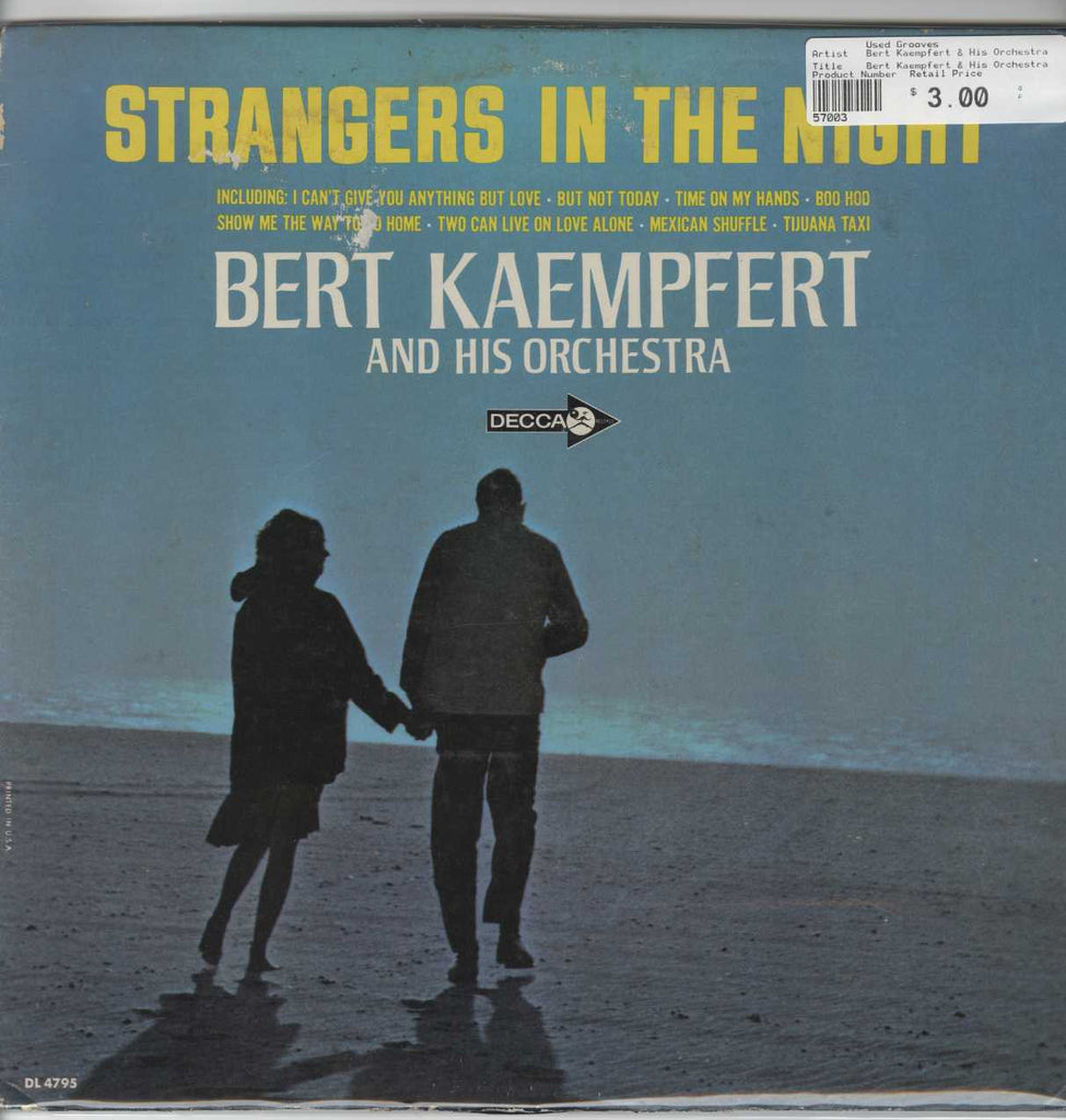 Bert Kaempfert & His Orchestra - Strangers In The Night