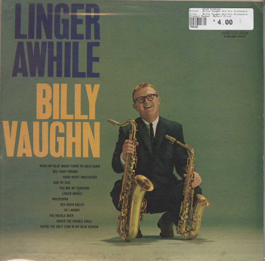 Billy Vaughn And His Orchestra - Linger Awhile