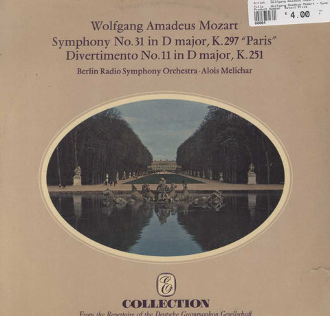 "Wolfgang Amadeus Mozart - Symphony No. 31 In D Major, K. 297 ""Paris"" / Divertimento No.11 In D Major"
