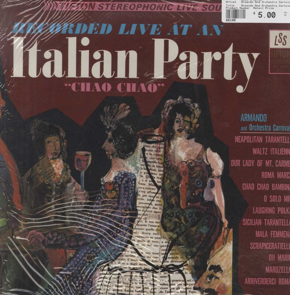 "Armando And Orchestra Carnivale - Recorded Live At An Italian Party ""Chao Chao"""