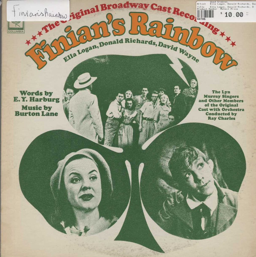 Ella Logan, Donald Richards, David Wayne - Finian's Rainbow ( Original Broadway Cast Recording)