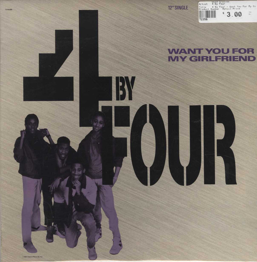 4 By Four - Want You For My Girlfriend