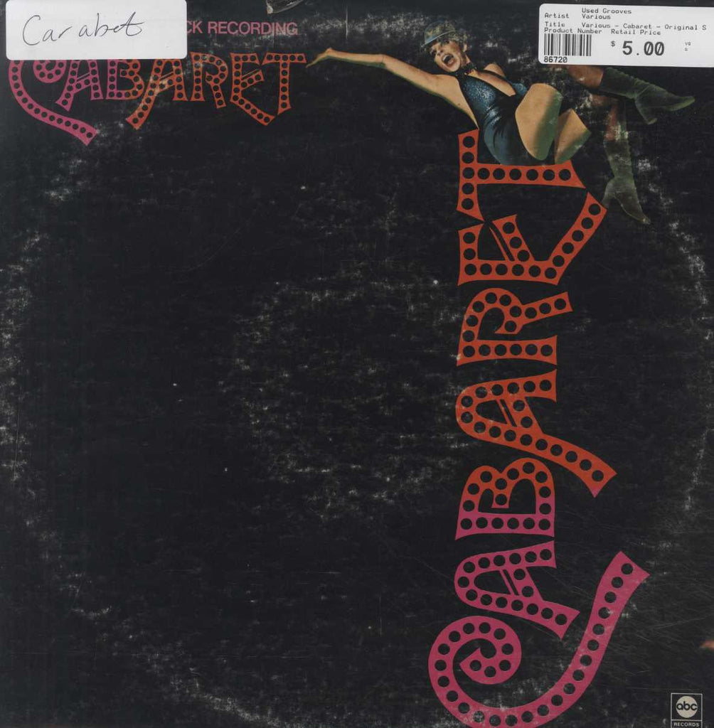 Various - Cabaret - Original Soundtrack Recording