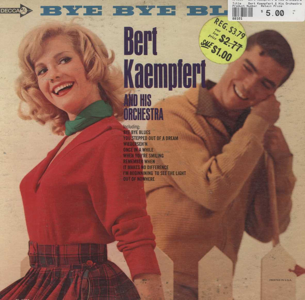 Bert Kaempfert & His Orchestra - Bye Bye Blues
