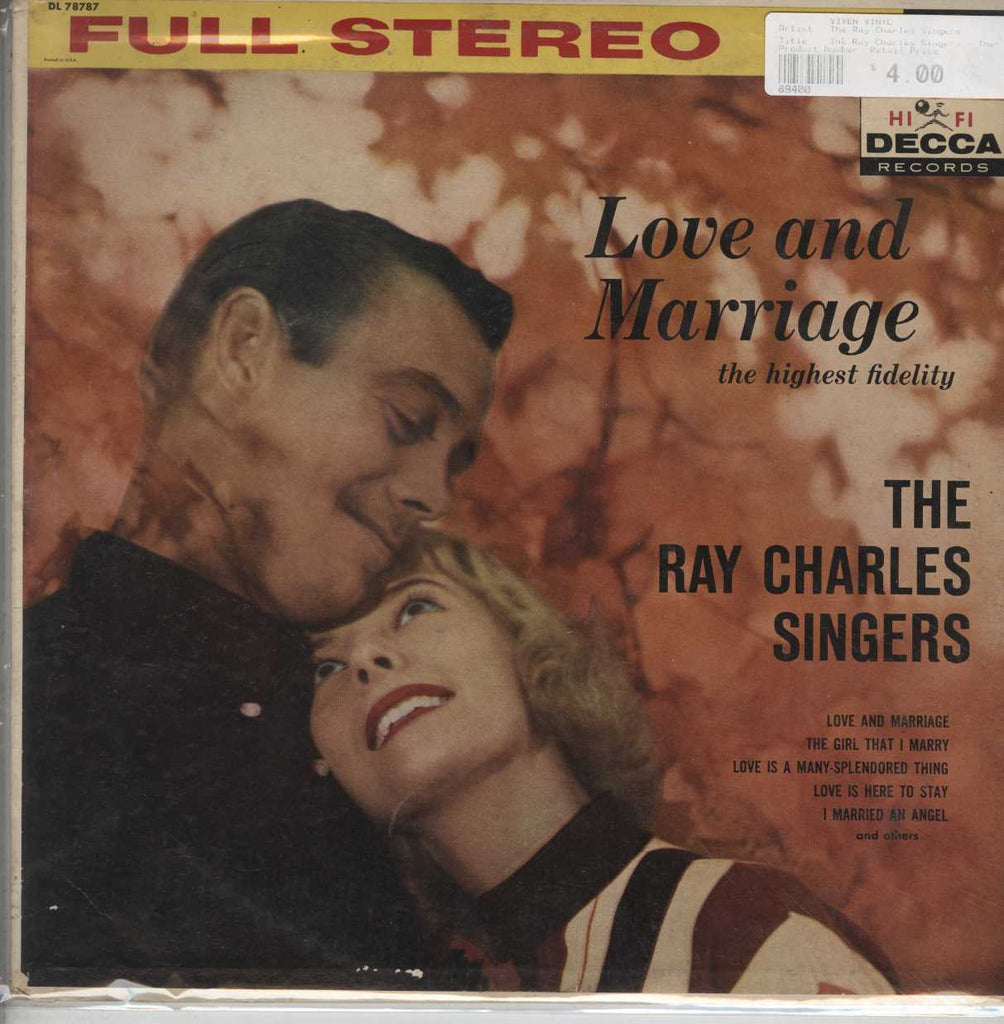 The Ray Charles Singers - The Highest Fidelity - Love And Marriage
