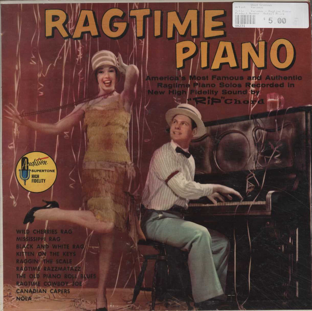 Various - Ragtime Piano
