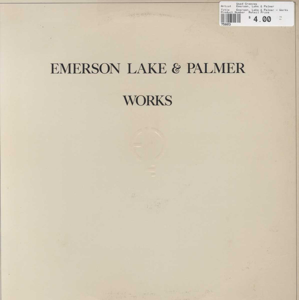 Emerson, Lake & Palmer - Works Volume 2