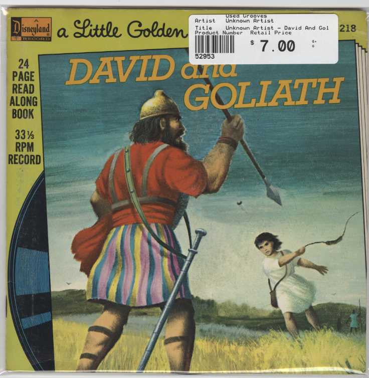Unknown Artist - David And Goliath