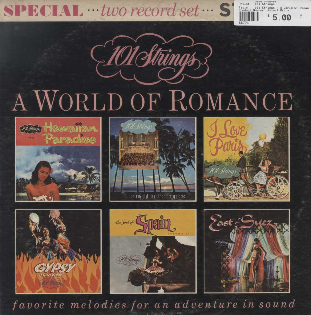 101 Strings - A World Of Romance