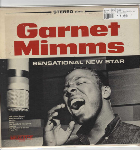 Garnet Mimms - Sensational New Star