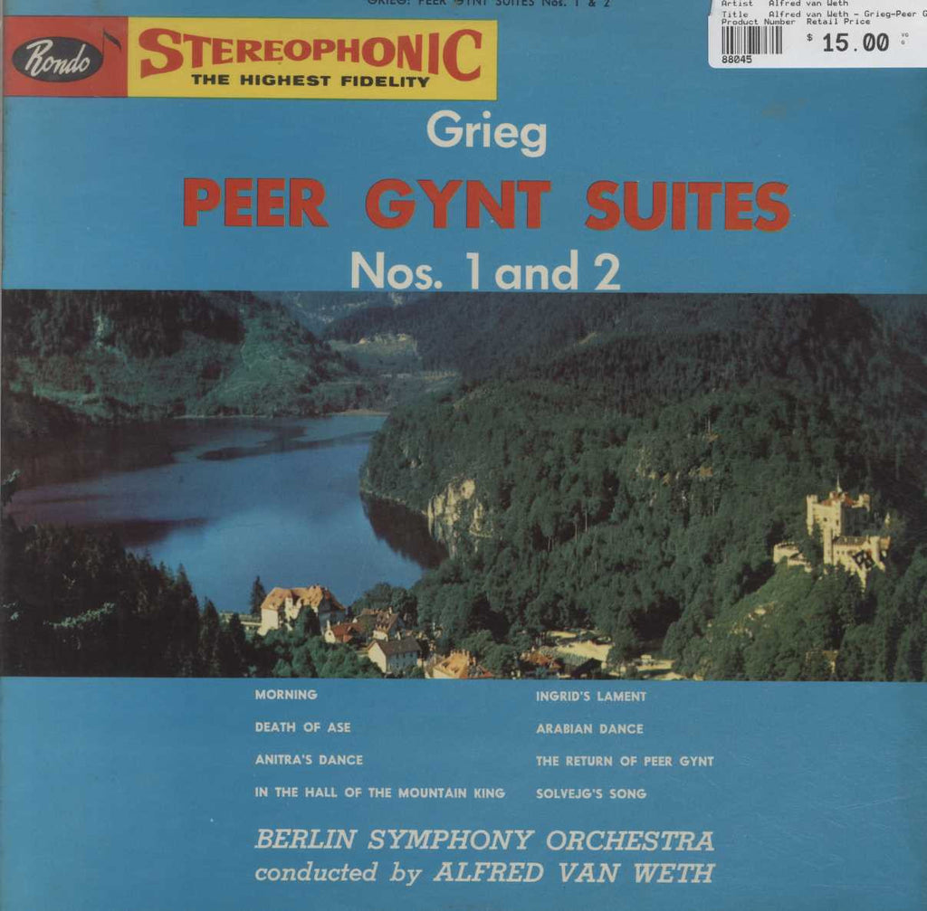 Alfred van Weth - Grieg-Peer Gynt Suites Nos. 1 and 2