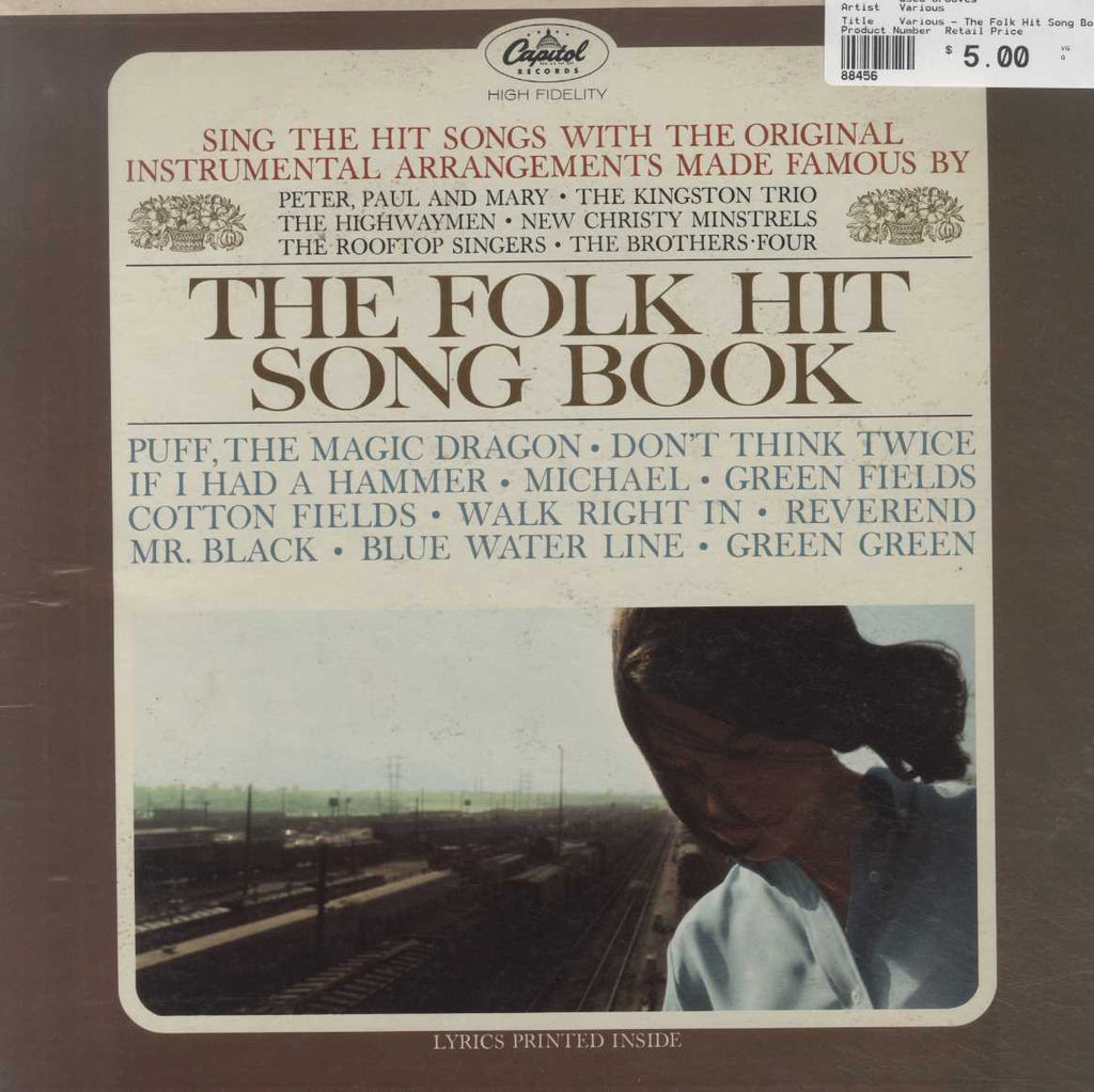 Various - The Folk Hit Song Book