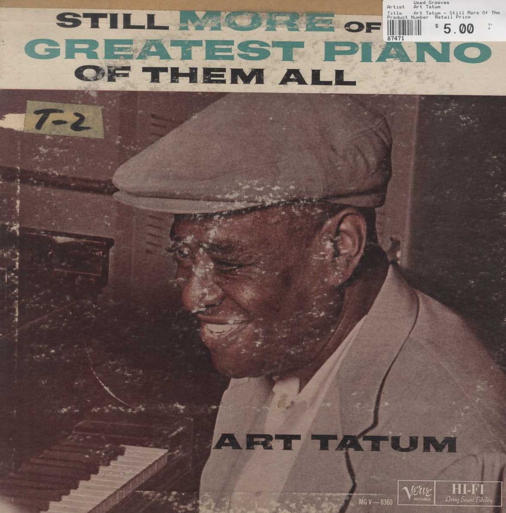 Art Tatum - Still More Of The Greatest Piano Of Them All