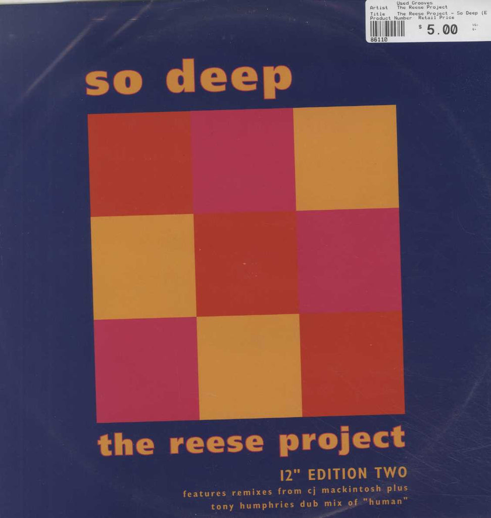 The Reese Project - So Deep (Edition Two)