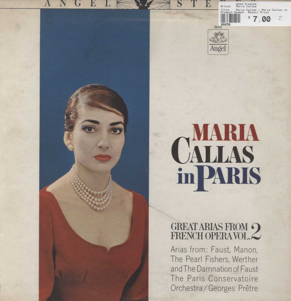 Maria Callas - Maria Callas in Paris - Great Arias from French Opera, Volume 2