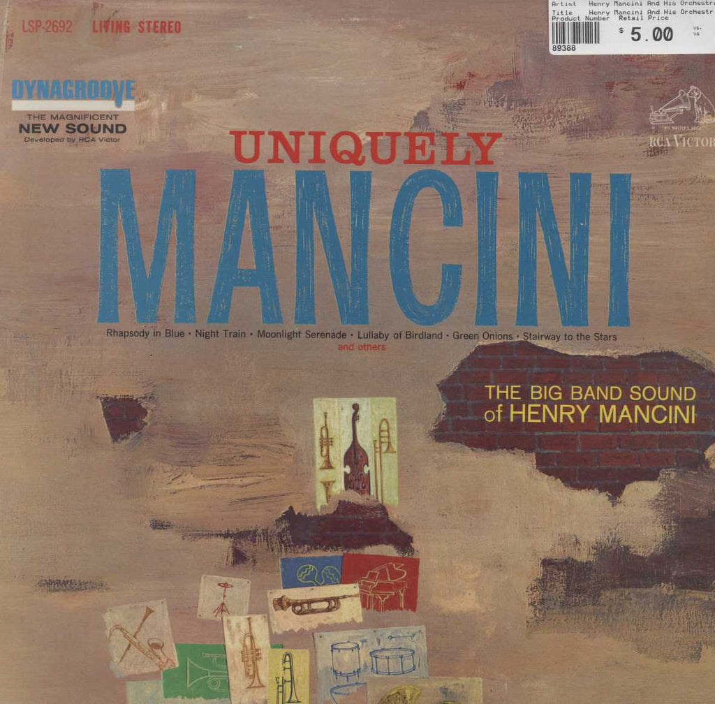 Henry Mancini And His Orchestra - Uniquely Mancini
