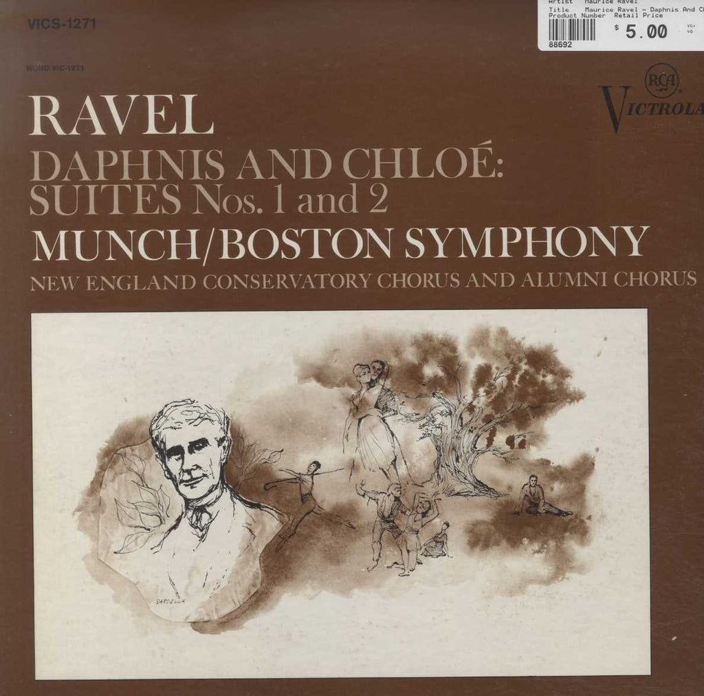 Maurice Ravel - Daphnis And Chloe