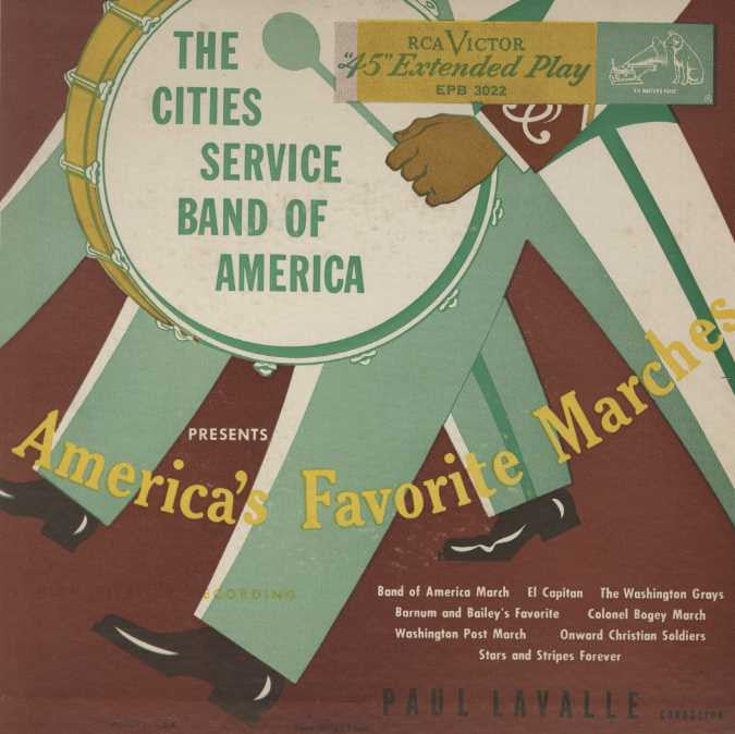 Cities Service Band Of America - America's Favorite Marches
