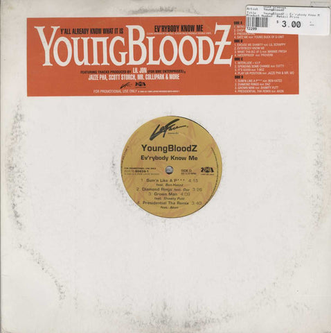 YoungBloodZ - Ev'rybody Know Me (Clean Version)
