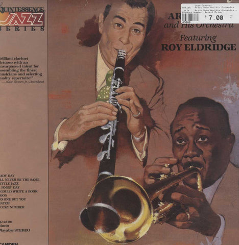 Artie Shaw And His Orchestra - Artie Shaw And His Orchestra Featuring  Roy Eldridge