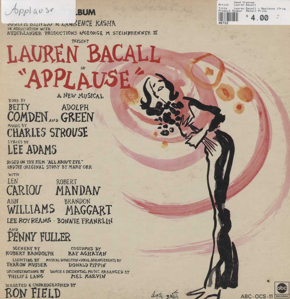 Lauren Bacall - Applause (Original Broadway Cast)