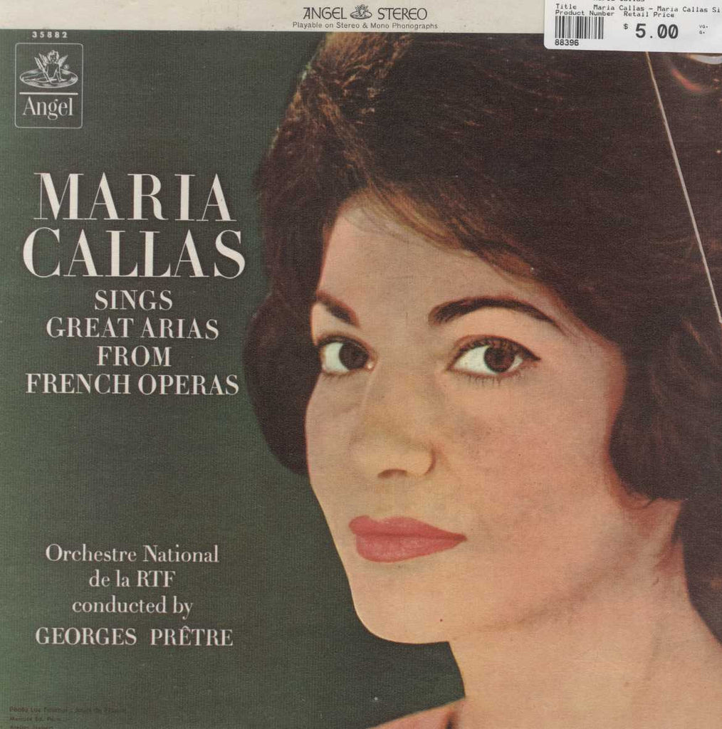 Maria Callas - Maria Callas Sings Great Arias From French Operas