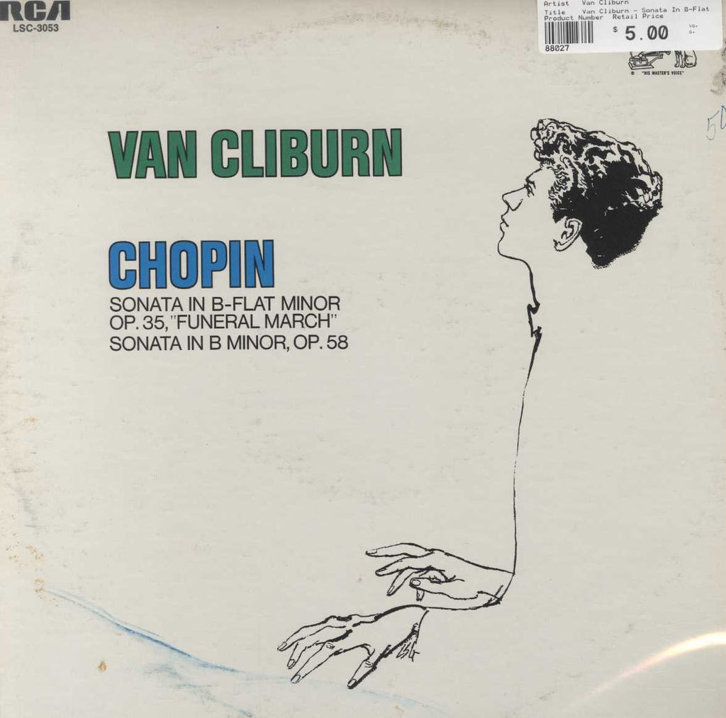 "Van Cliburn - Sonata In B-Flat Minor Op. 35, ""Funeral March"" / Sonata In B Minor, Op. 58"