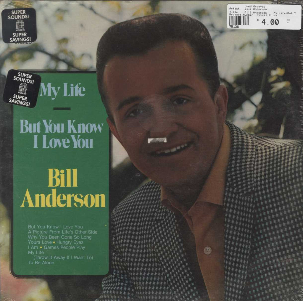 Bill Anderson  - My Life/But You Know I Love You