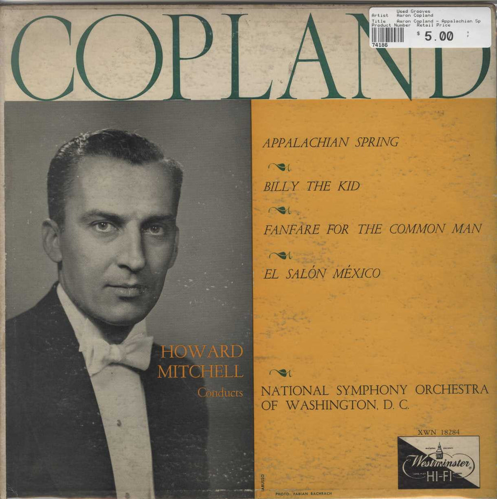 Aaron Copland - Appalachian Spring, Billy The Kid, Fanfare For The Common Man, El Salon Mexico