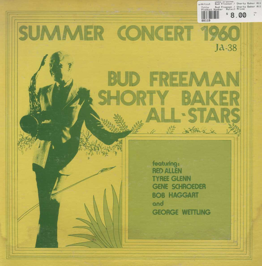 Bud Freeman / Shorty Baker All Stars - Summer Concert 1960