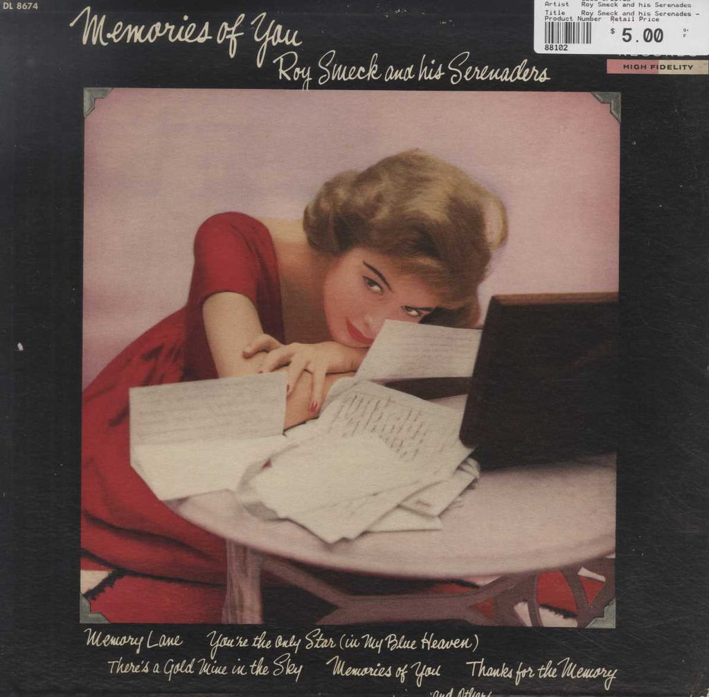 Roy Smeck and his Serenades - Memories Of You