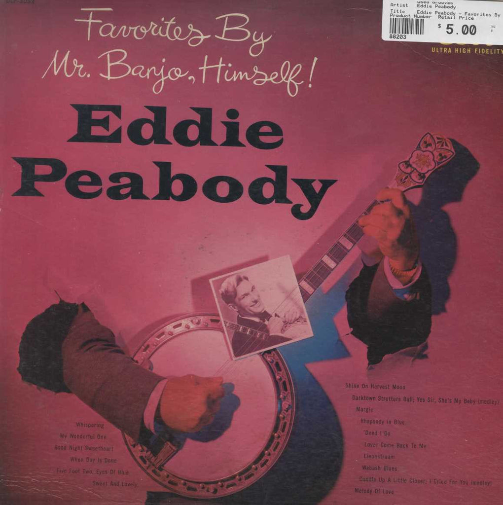 Eddie Peabody - Favorites By Mr. Banjo, Himself !