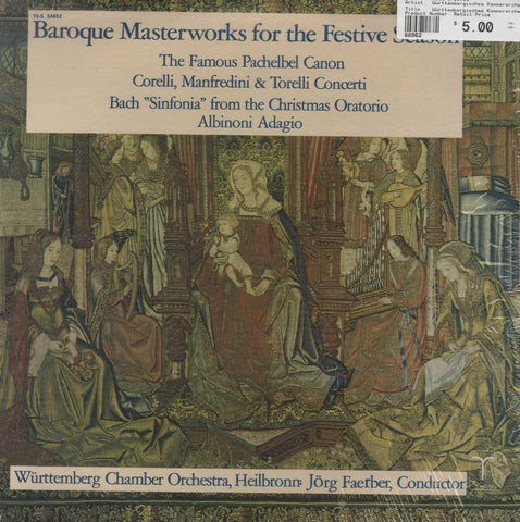 Württembergisches Kammerorchester - Baroque Masterworks For The Festive Season
