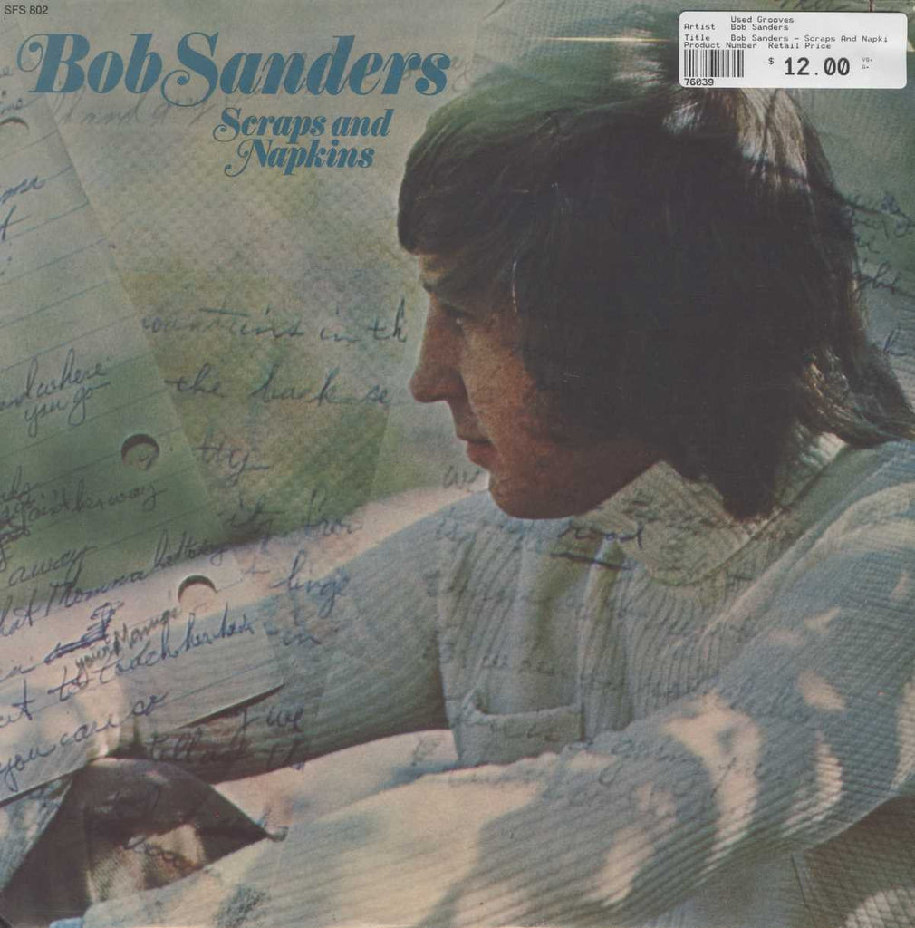 Bob Sanders - Scraps And Napkins