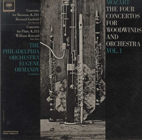 Wolfgang Amadeus Mozart - The Four Concertos For Woodwinds And Orchestra Vol. 1 (Concerto For Bassoo
