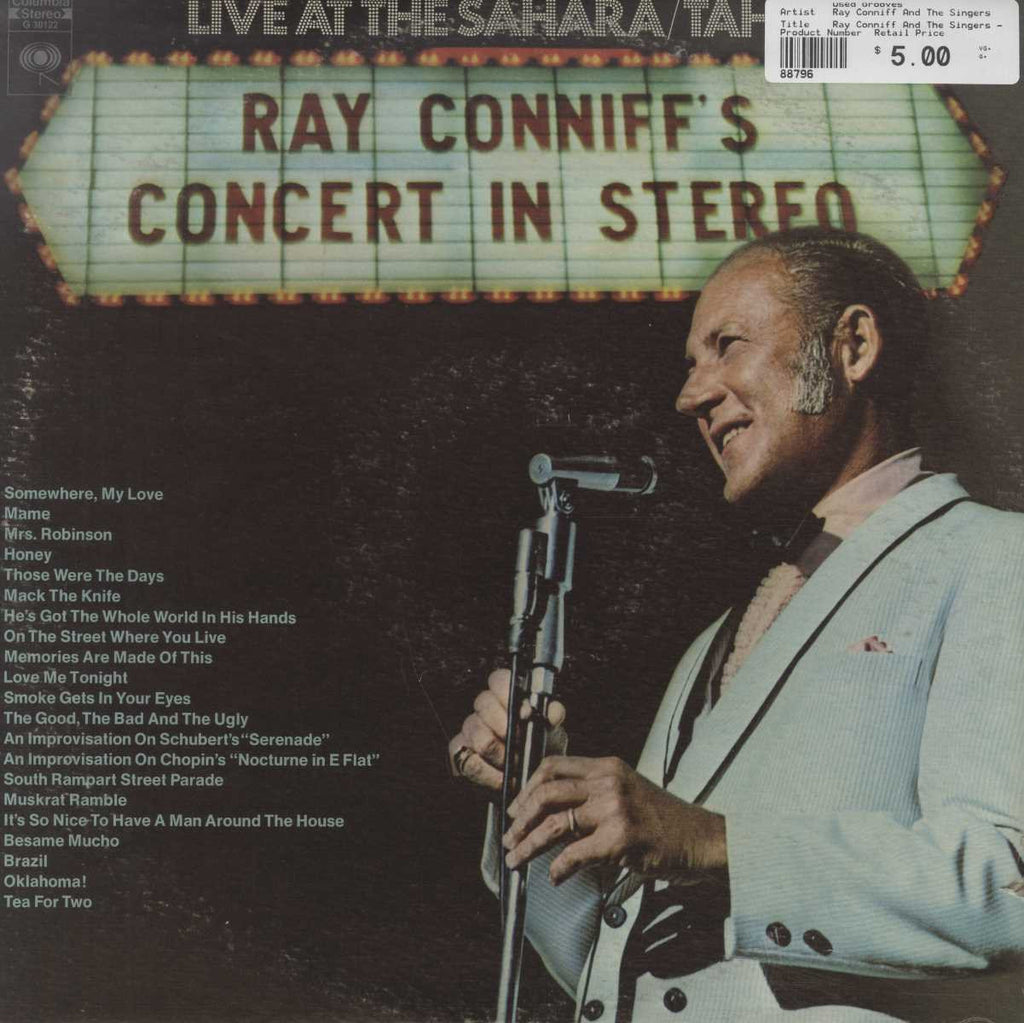 Ray Conniff And The Singers - Ray Conniff's Concert In Stereo (Live At The Sahara/Tahoe)