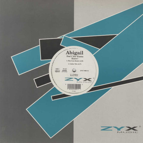 Abigail - Don't You Wanna Know?
