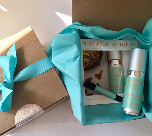 Night-Time Face Oil and Lip Conditioner Gift Box